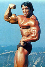 He was built like Arnold!