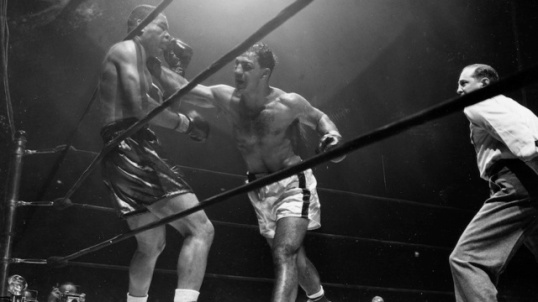 Joe Louis losing fight